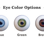 Doll House 168 options - eye colors