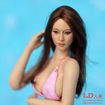 Lovely Doll ›Lovely One-Sixth 27 L‹ mit Bikini und Kumik-Kopf
