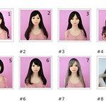 SM Doll wigs