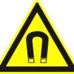 Warnung Magnetfeld