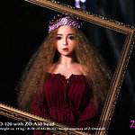 ZO-120 body style with ZO-A30 head by Z-Onedoll